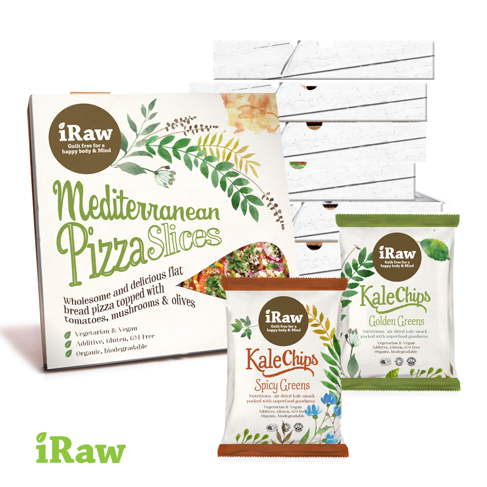 iRaw Vegan food brand