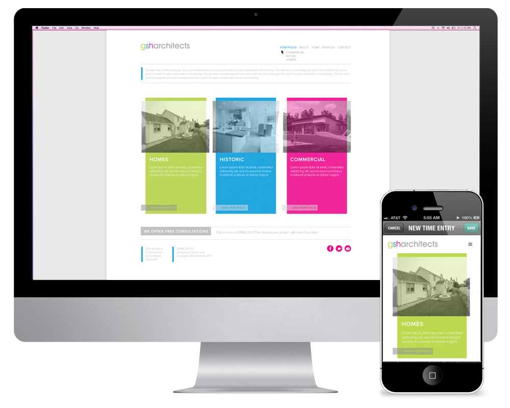GSH Architects Website
