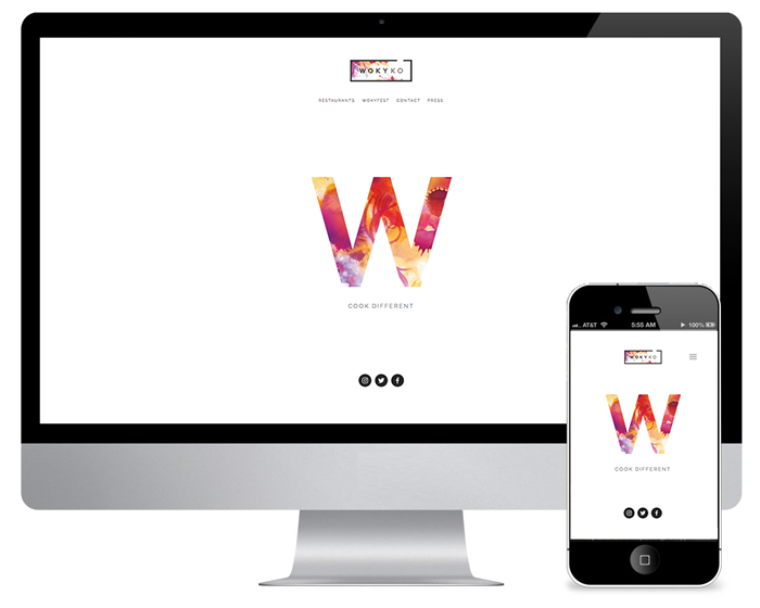 Wokyko Website