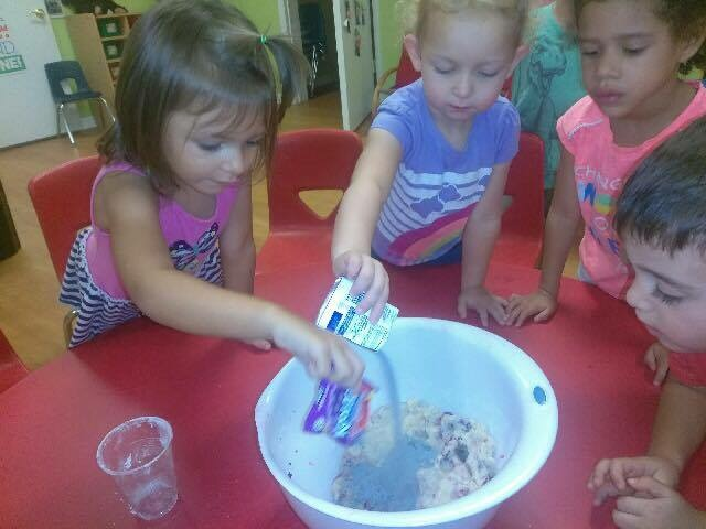 Lake Mary Childcare 3yr class  (photo by kind permission of parents)