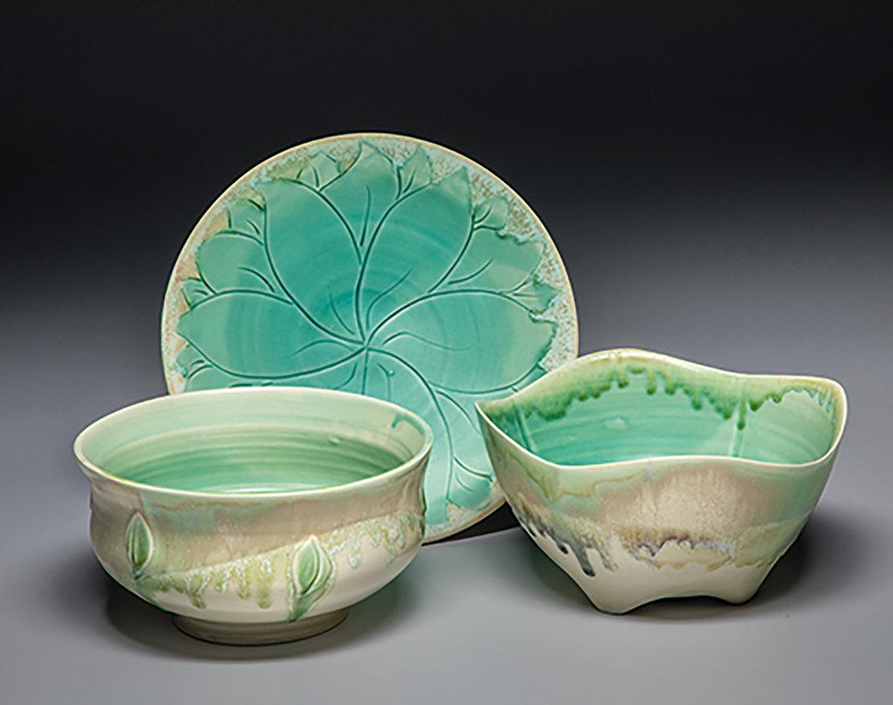 Wrenn Pottery serving bowls.jpg