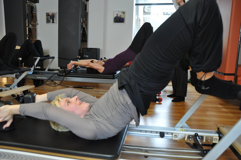 Semi-Circle am Pilates Reformer