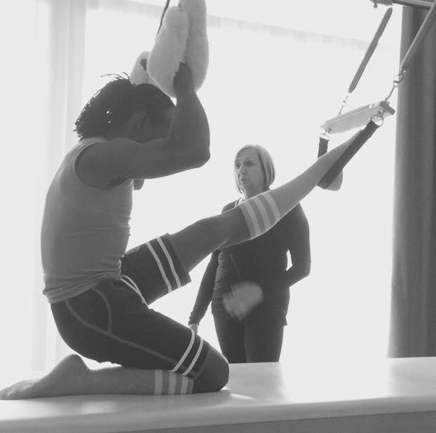 Pilates Knee Stretch