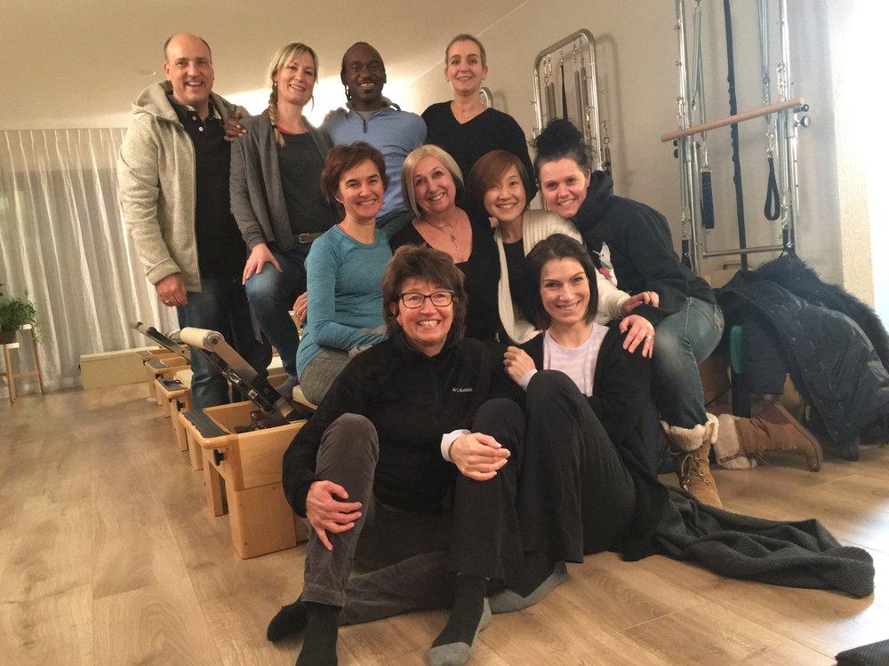 Eine fantastische Gruppe von Menschen, mit denen ich eine Woche des Lernens verbringen durfte. Vielen Dank!