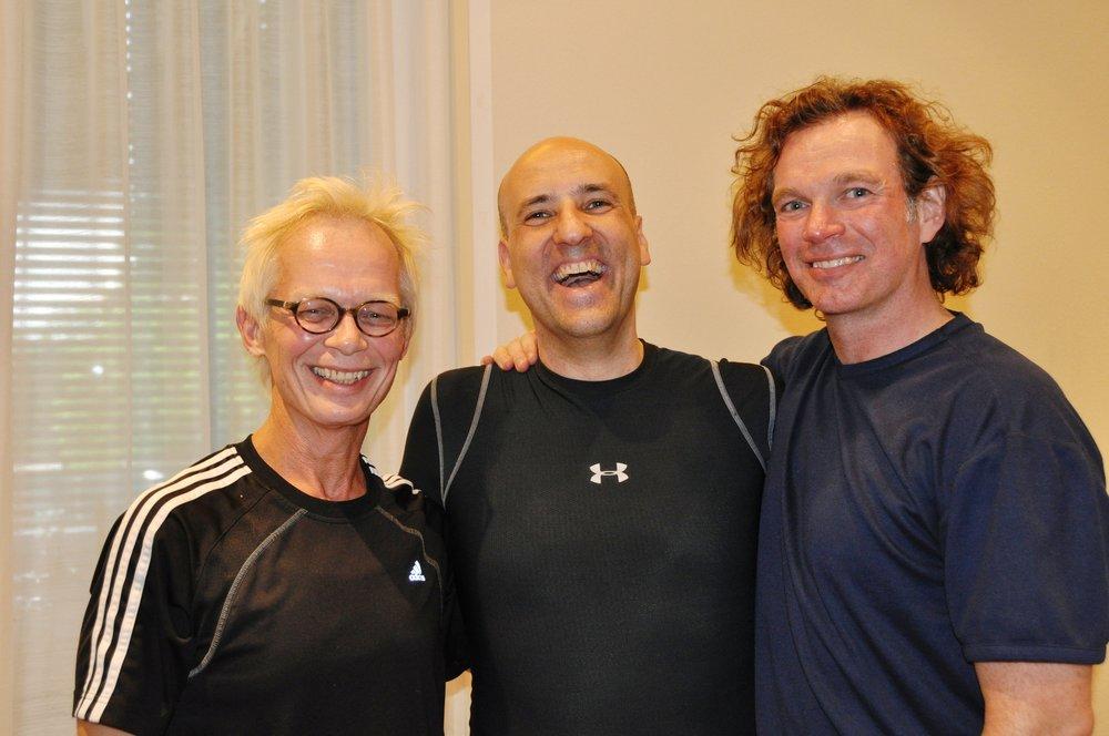 Michael Fritzke, Reiner Grootenhuis und Ton Voogt