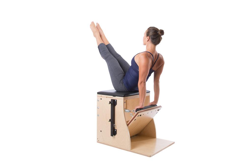 Teaser auf dem Pilates Wunda Chair