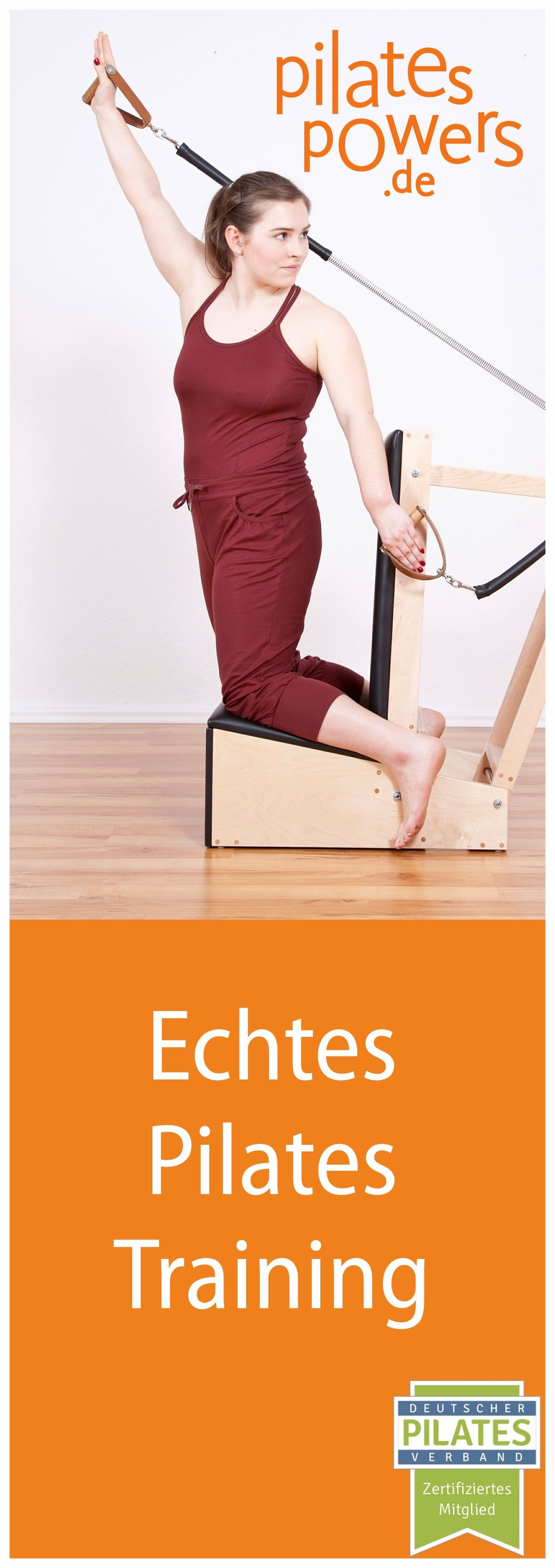 Titelbild Flyer pilates-powers August 2017