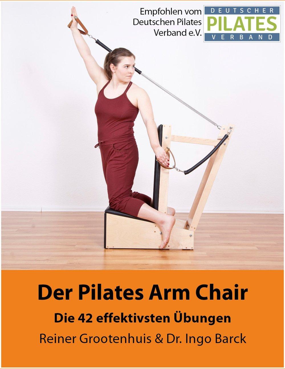 Der Pilates Arm Chair / Erschienen im Juli 2016 auf Deutsch und im September 2016 auf Englisch 4 Rezensionen mit 5 Sternen amazon.de (deutsche Version). 11 Rezensionen mit 5 Sternen amazon.com (englische Version). Hier ist das  Pilates Arm Chair Manual bei amazon erhältlich .
