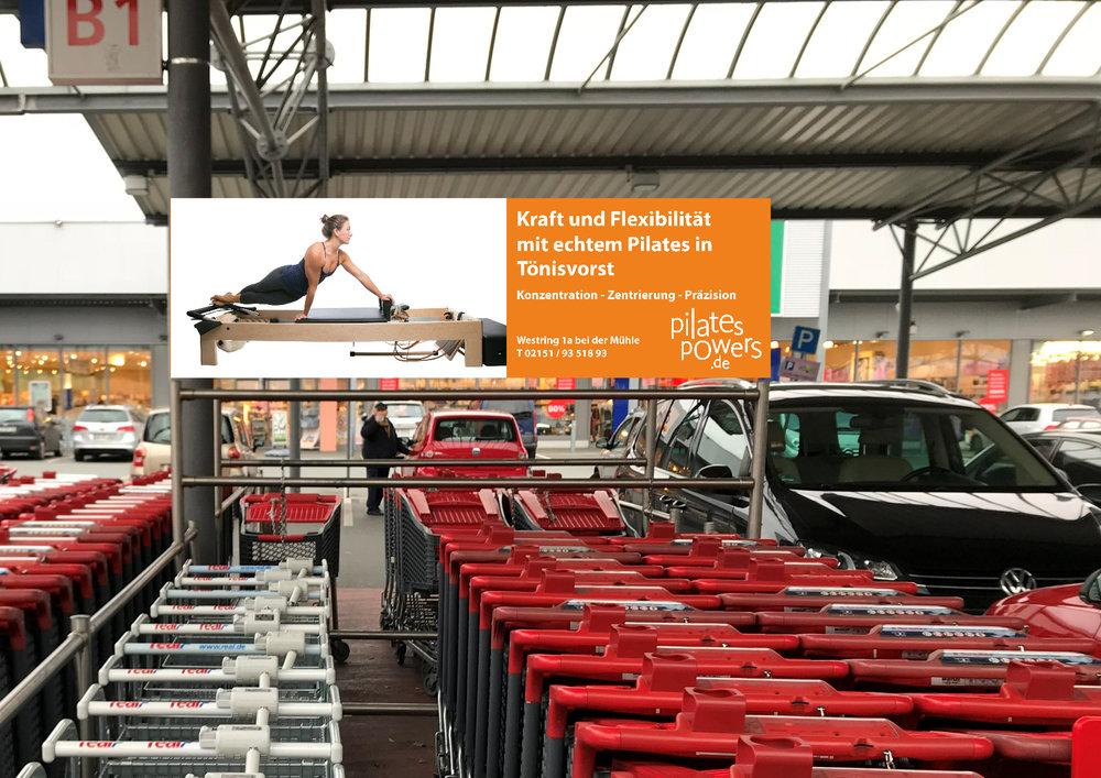 Motiv 2 - Die Pilates Trainerin Alison Franco, von der ich ein paar Bilder gekauft hatte, in der Snake auf dem ReformerFotograf: unbekannt