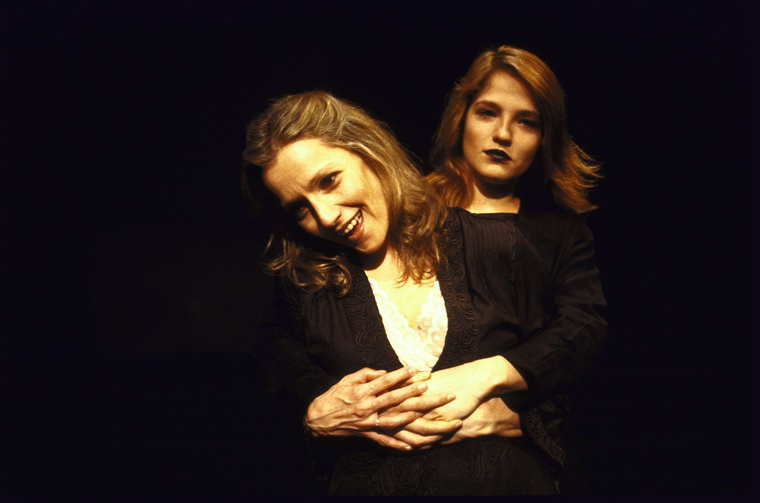 Barbara Eda-Young and Ellen Barkin in Shout Across The River in New York