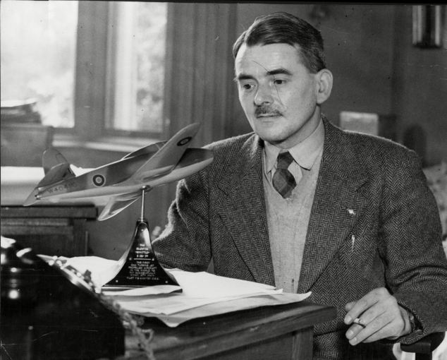Frank Whittle, jet engineer.