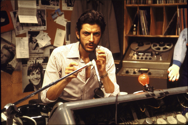 Jeff Goldblum plays DJ Leonard Brazil in City Sugar production at New York's Phoenix Theatre