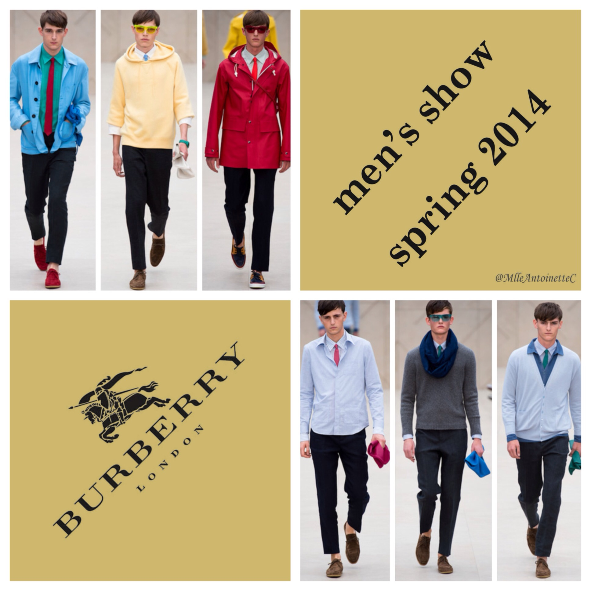 Burberry Menswear Show Sriing 2014