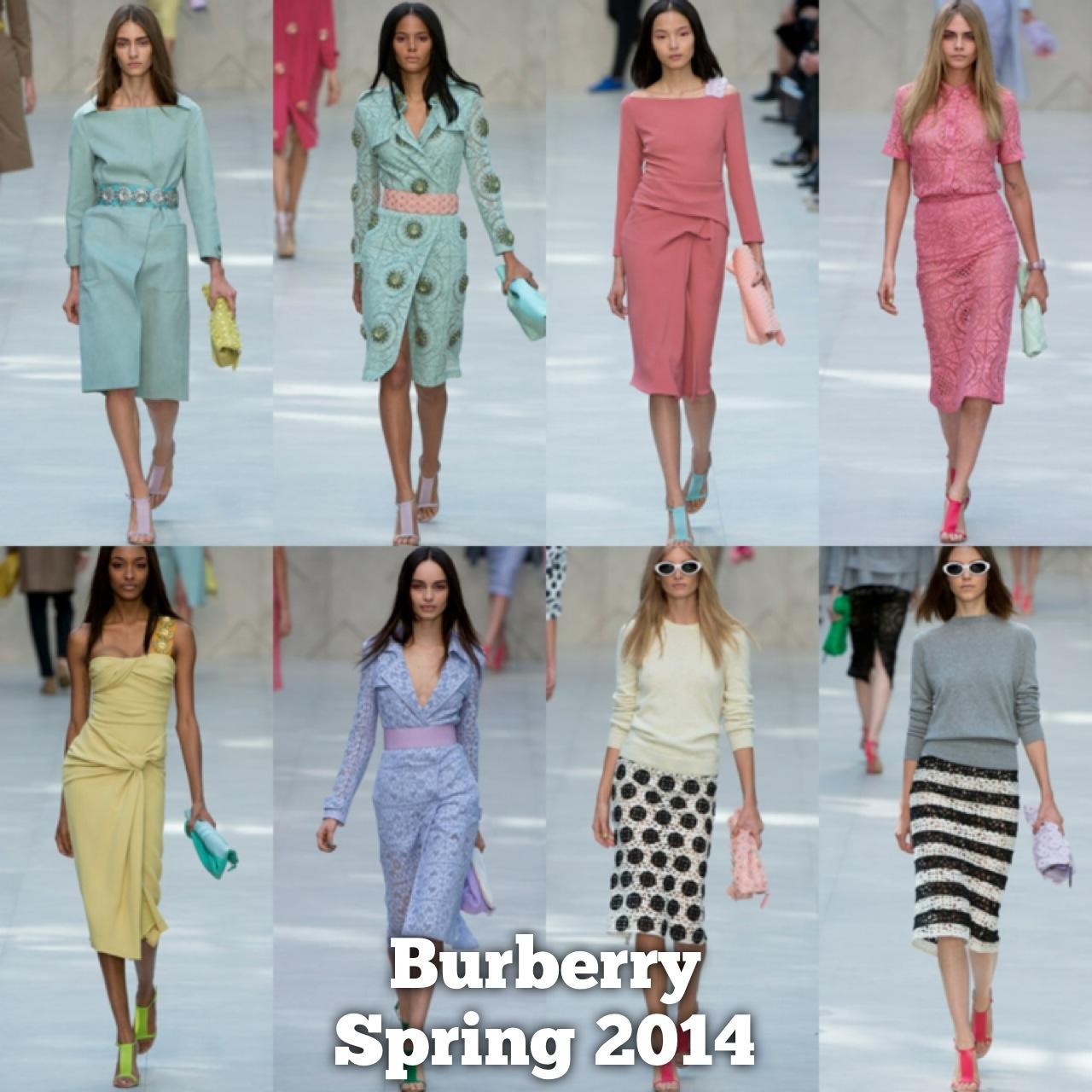2014 Spring Burberry
