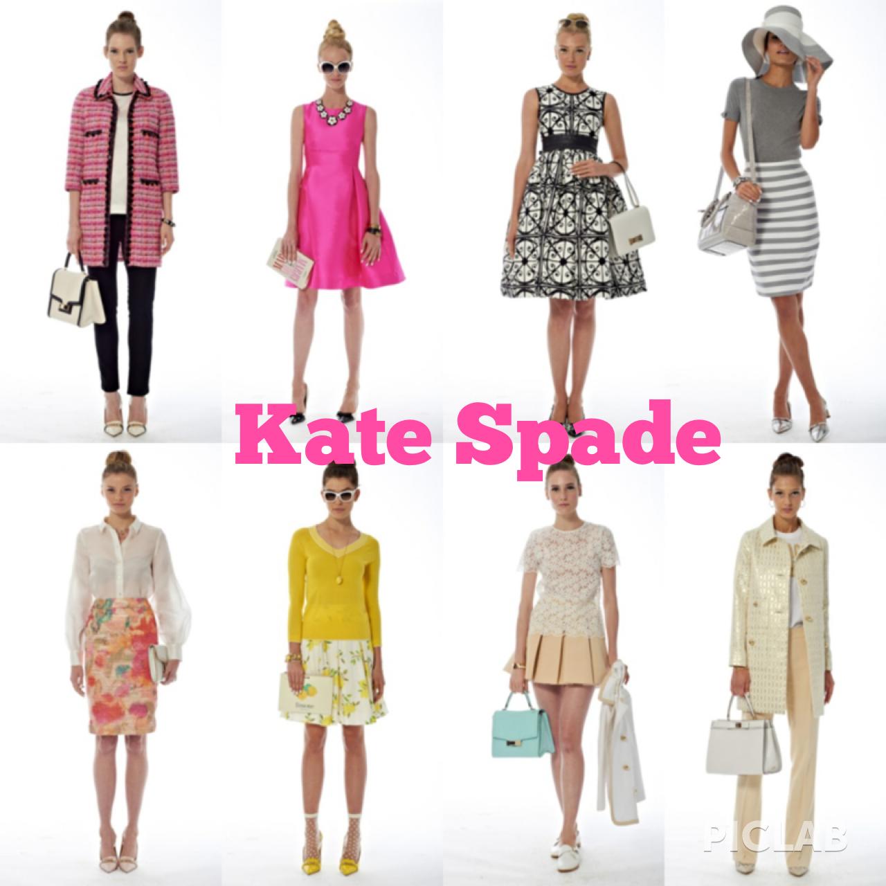 Spring 2914 Kate Spade