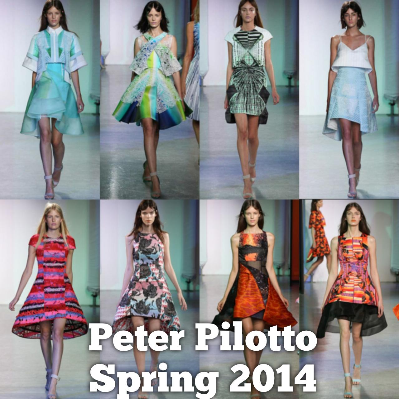 2014 Spring Peter Pilotto