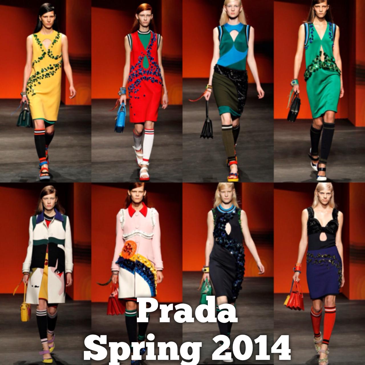 Spring 2014 Prada