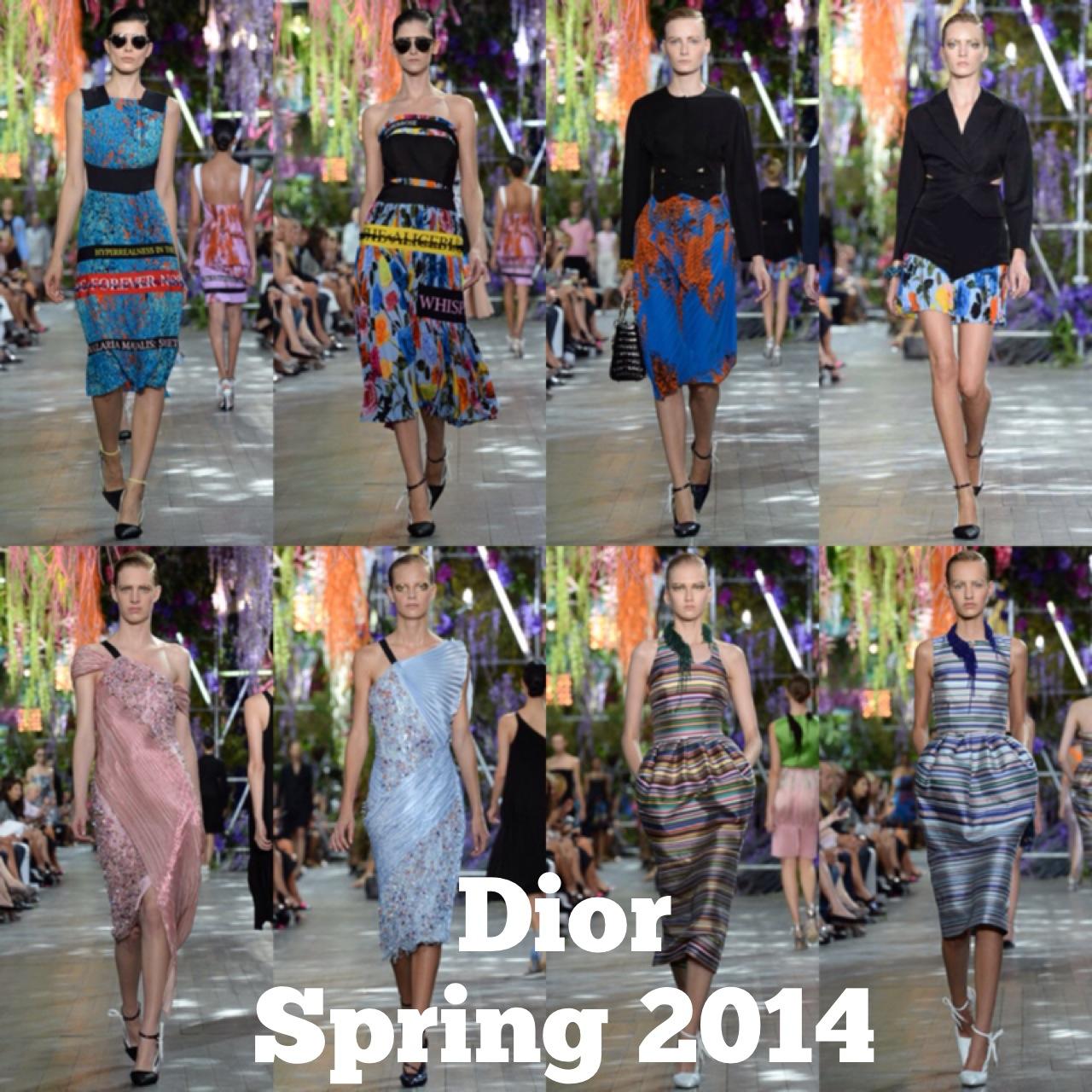 Spring 2014 Dior