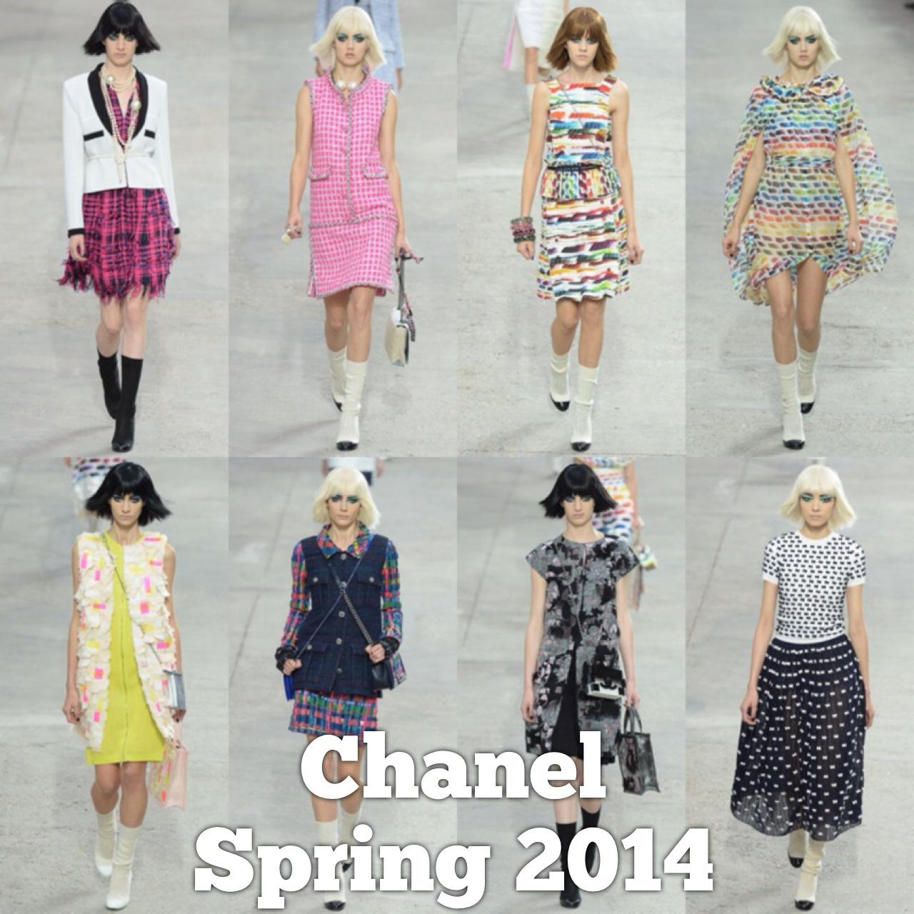 Spring 2014 Chanel