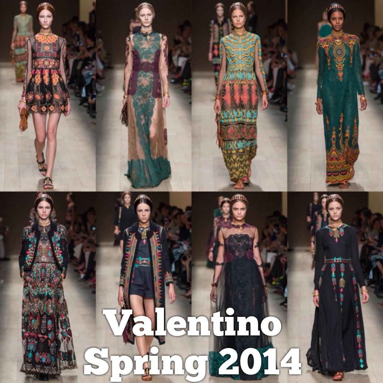 Spring 2014 Valentino