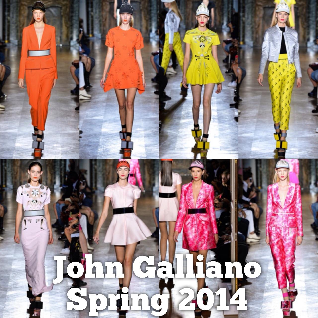 Spring 2014 John Galliano