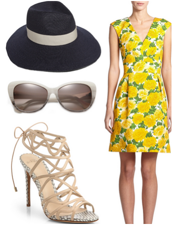 Veuve Clicquot Polo Classic outfit 1