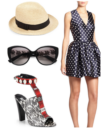Veuve Clicquot Polo Classic outfit 2