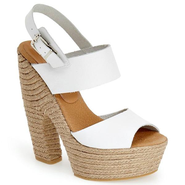 topshop chunky espadrille heels