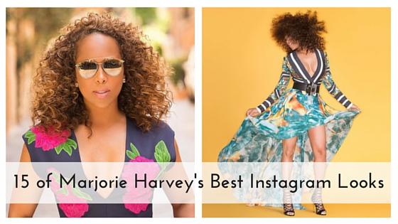 15 of Marjorie Harvey's Best Instagram Looks Blog