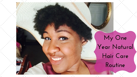 My One Year NaturalHair Care Routine
