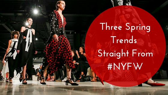Three Spring Trends Straight From #NYFW (1)