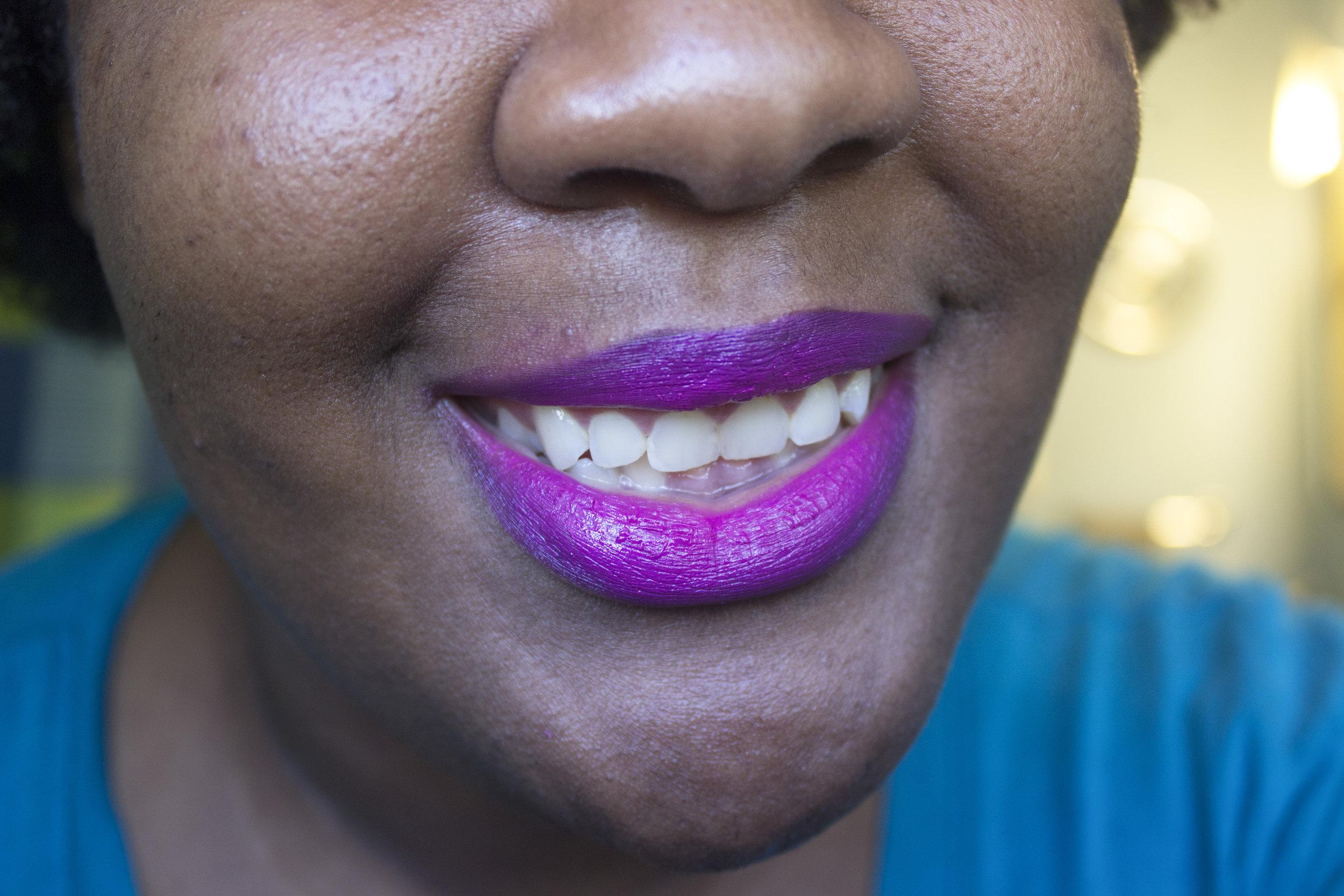 fuchsia smile