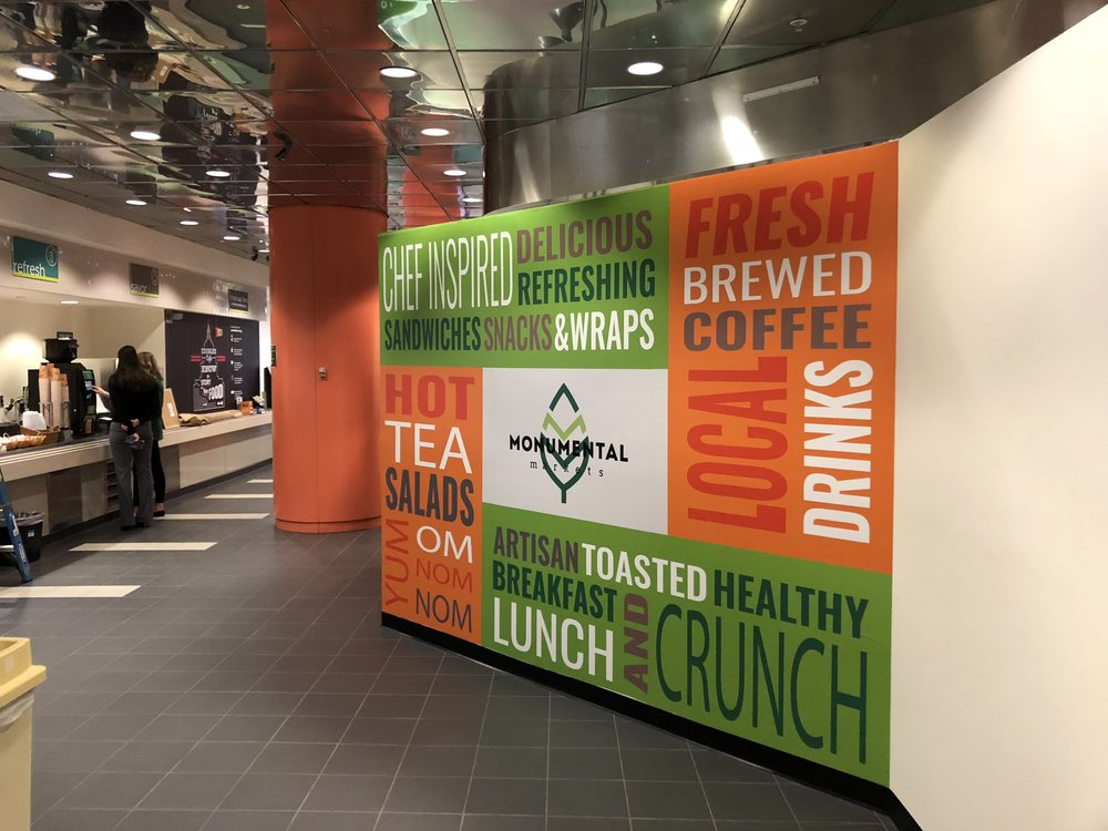 Project: Cafeteria Wall Wraps for theU.S. Department of Education -