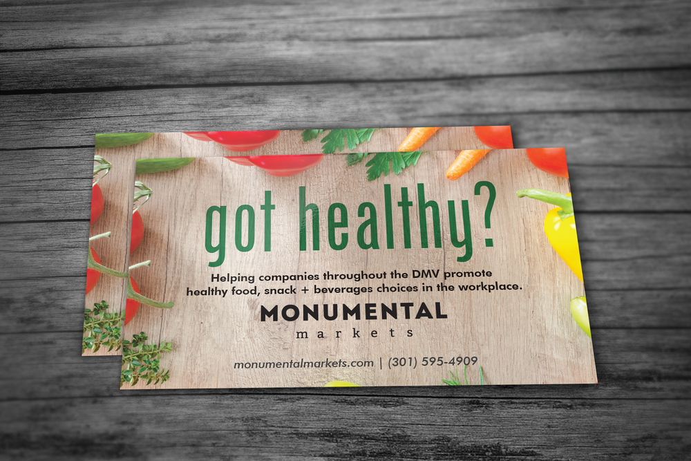 Client: Monumental Markets -