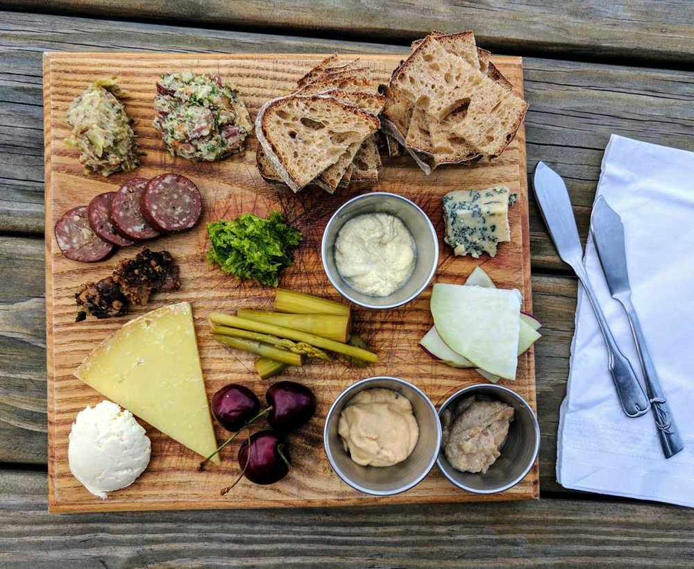 Insanely delicious charcuterie and cheese paired to perfection with our cidrbox assortment by Finger Lakes Cider House chef Isaiah Parker  @isaiahluke
