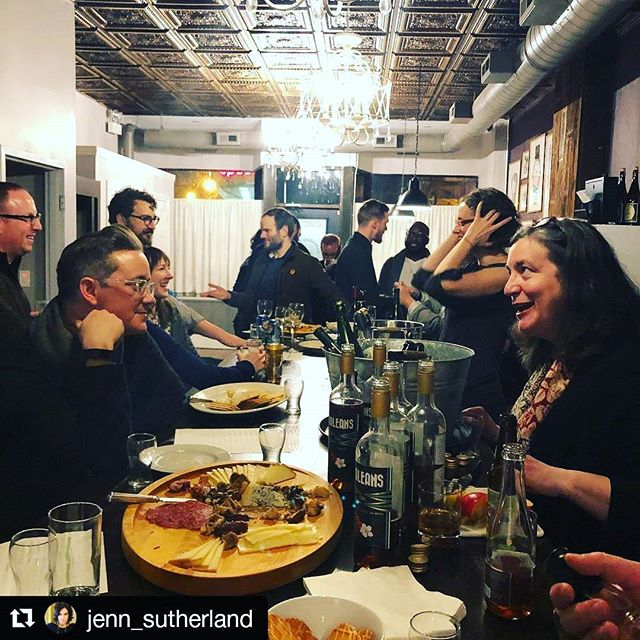 💕💕💕 #Repost @jenn_sutherland (@get_repost) ・・・ Cider Week. Definitely the best week. An evening sipping divine, diverse heritage ciders and meeting new #ciderfriends from @edenciders @stemciders @farnumhillciders. Thanks to @suttonhoo for the invite and to Birch Road Cellars for hosting! #ciderweekchicago2018 #ciderweekchi