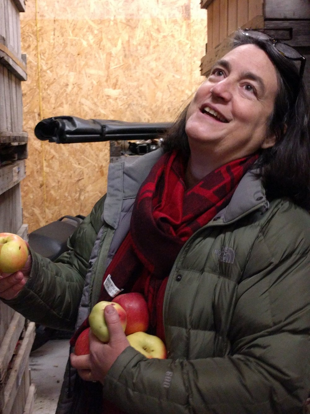 Eden Ciders  Founder Eleanor Léger, aka  @appleellie , shared an abundance of ciders from her cellar, including the limited run Cinderella's Slipper, of which only six cases remain. Audio tasting notes are from our  orchard visit in D  ecember 2016