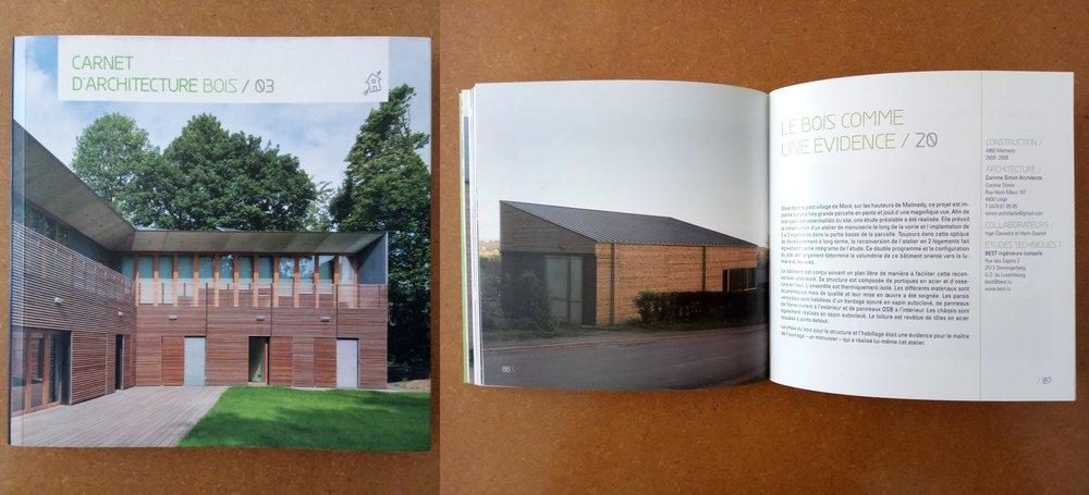 2010 Bois & Habitat - Carnet d'architecture bois 03