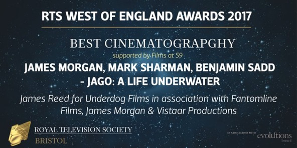 Excuse the typo!  Written up and posted by RTS West on the night of the awards!