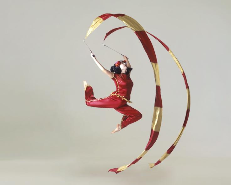 Geishas, ribbon performance 3, Divine Company.jpg