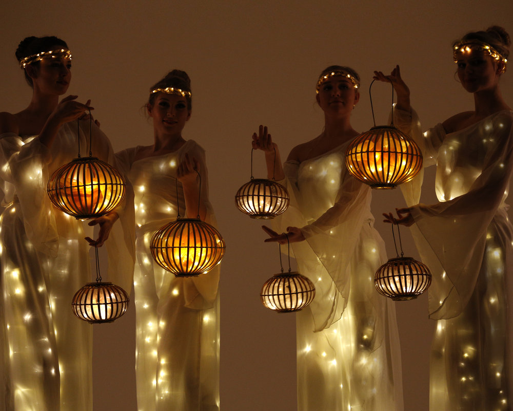 Arcadians with lanterns 2, Divine Company.jpg