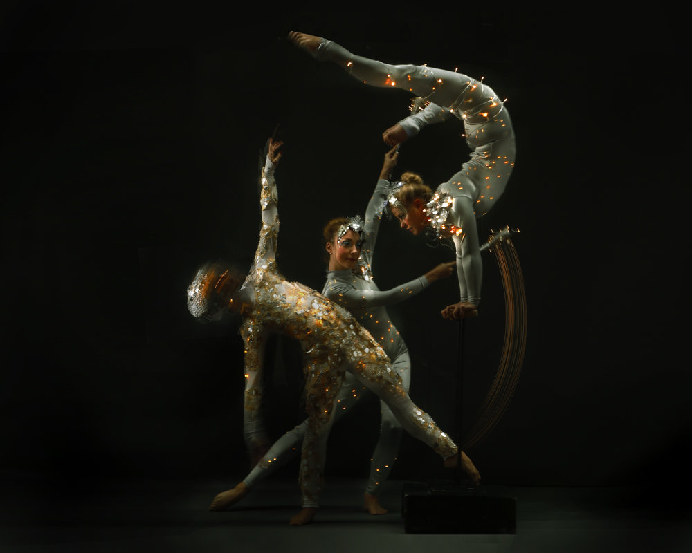 Silver & Crystal and Light, hand balance and gymnastic performance, Divine Company.jpg