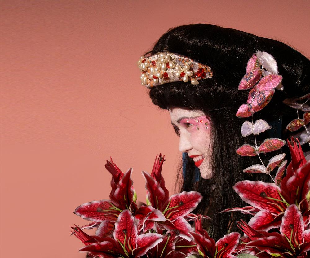 Geishas, detail 1, Divine Company.jpg