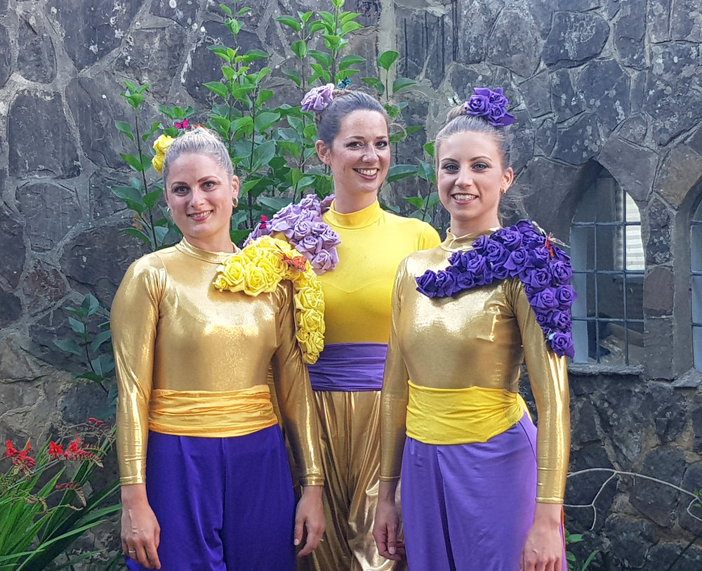 Colour Collection, lilac, purple, gold, yellow, Divine Company.jpg