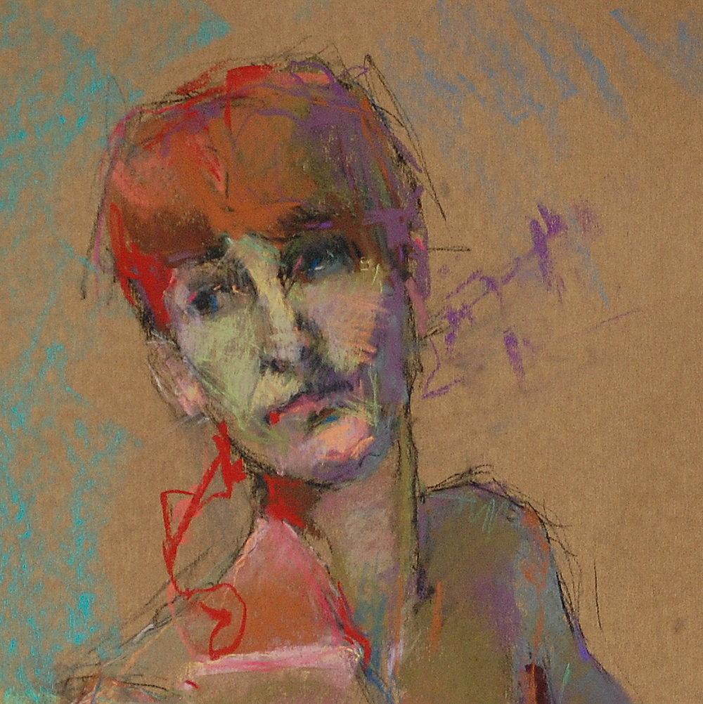 Redhead Glancing