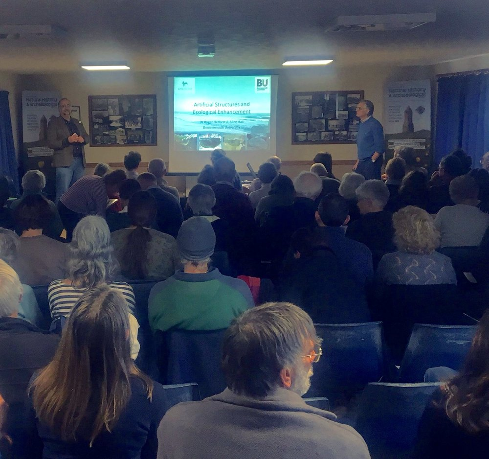 Artecology on the agenda at the Isle of Wight Biological Recorders Conference 2017