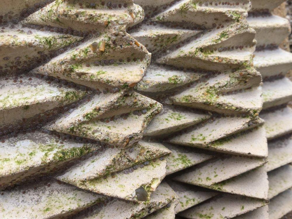 Complex tile texture