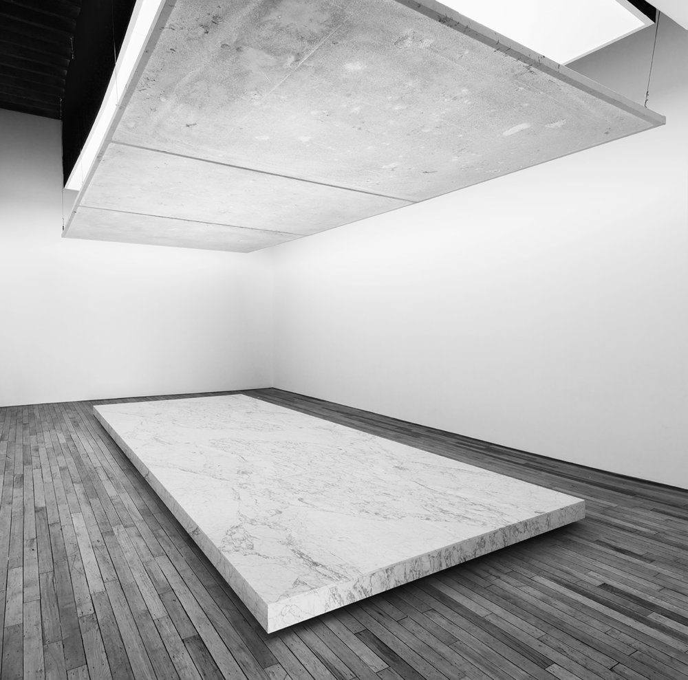 "SAM MOYER: MORE WEIGHT"";Installation view;April 26 - June 8, 2014;Rachel Uffner Gallery, New York"