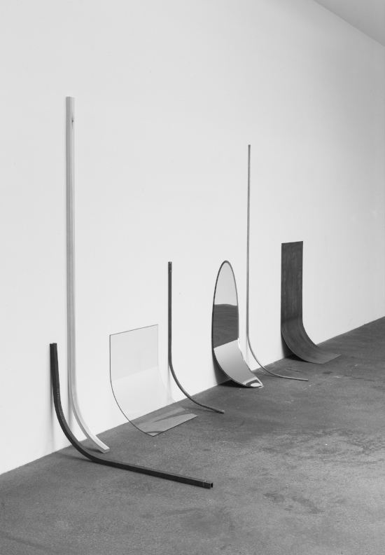 OTHER CONDITION (PHYSICAL STATE 6); 2009; Steel, copper, glass, mirror, iron, mop stick; Dimensions variable