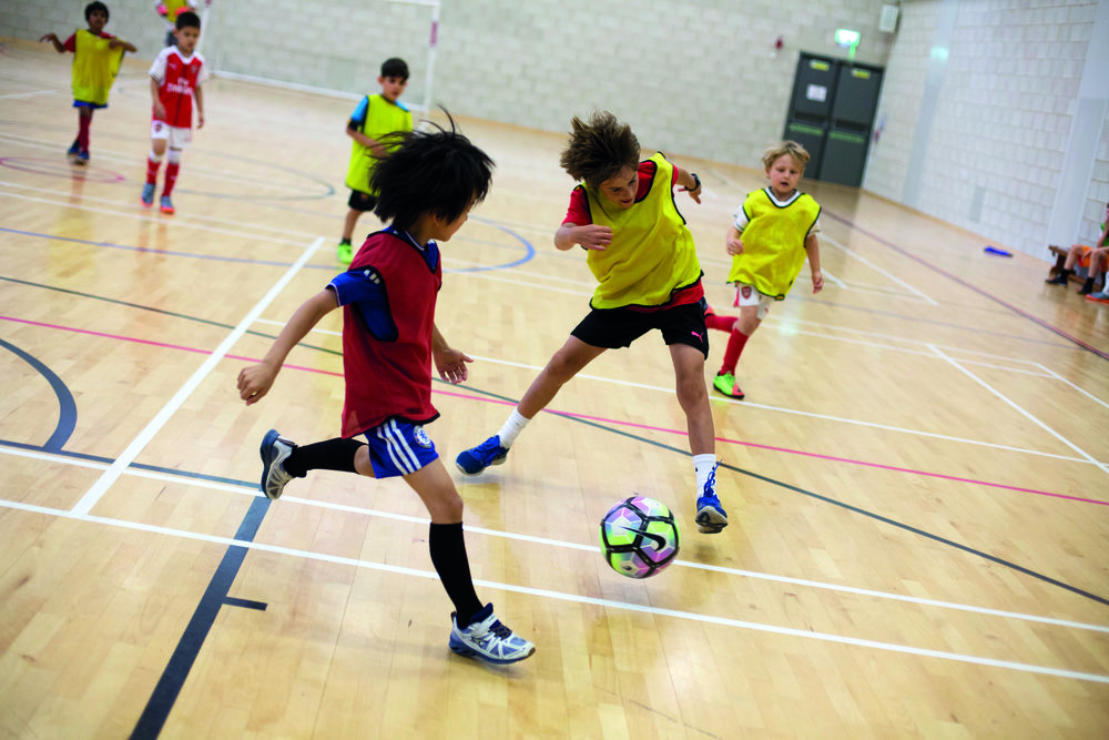 Ages 8-12 years - 9.30am-3.30pm (Drop-off from 9am)Weekly rate: £200 • Daily rate: £55Children will develop fitness, football skills and confidence through games and drills. Boys and girls of all abilities are encouraged to progress at their own pace. All children are taught the rules of football and the importance of team work and exciting football tournaments are played each day.Please provide a named, nut-free packed lunch. Children should wear comfortable sport clothes and trainers, please ensure that all removable clothing is named.(Once you have registered by clicking below, you will be prompted to make a payment of the camp fees, BUT PLEASE NOTE THAT A PLATFORM FEE WILL BE ADDED. To avoid the platform fee, payment can be made over the phone with a debit card (call 020 8446 0891) or by internet banking: DSSL, Sort Code: 40-05-07, Account No: 31252984)